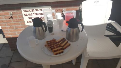 Gratis koffie en ranja voor iedereen