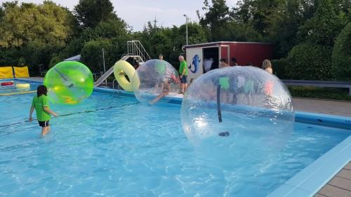 Altijd succes met de aquabubbels