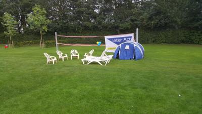 En ondertussen op onze camping...