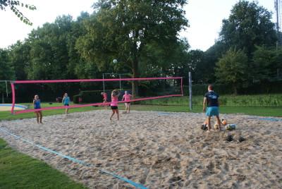 Netten voor volleybal of  strandvoetbal